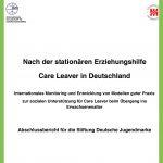 Foto Titelblatt Abschluss Projekt Nach der stationaeren Jugendhilfe