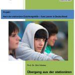 Foto Titelblatt Expertise Nuesken - Übergang aus der Stationären Jugendhilfe ins Erwachsenenleben in Deutschland