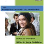 Foto Titelblatt einer Broschüre für Jugendliche zu rechtlichen Lage