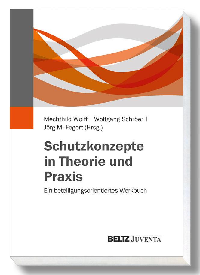 Titelbild fuer das Werkbuch Schutzkonzepte in Theorie und Praxis