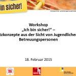 Foto der Präsentation für WorkshopteilnehmerInnen
