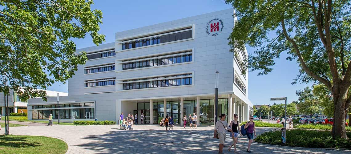Foto Stiftung Universität Hildesheim Hauptcampus zum Projekt Care Leaver an Hochschulen