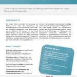 Vorschau factsheet fostercare