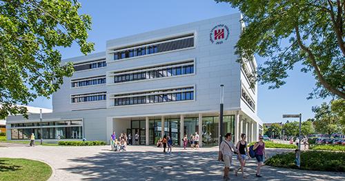 Foto Universität Hildesheim Hauütcampus zum Projekt Care Leaver an Hochschulen